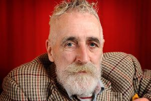 Artist and playwright John Byrne