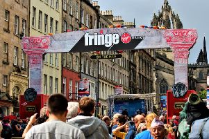 The Edinburgh Festival Fringe is the biggest arts festival in the world (Photo: Shutterstock)