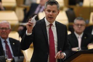 Derek Mackay is more interested in being seen to tax the better-off than bringing in more money. Picture: Andrew Cowan