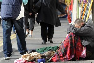 Tens of millions were paid out to shelter homeless people in temporary accommodation in the Capital last year. Picture: EEN