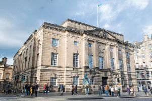 The High Court in Edinburgh.