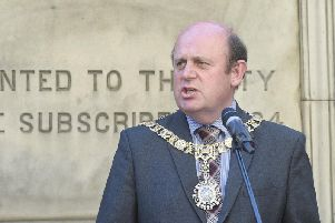 Lord Provost Frank Ross is a councillor for Corstorphine/Murrayfield