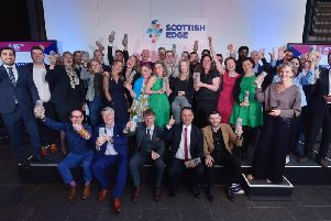 Each of the Scottish Edge winners took home an up to six-figure share of theprize pot. Picture: Sandy Young