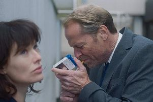 Iain Glen and Lena Headey in The Flood
