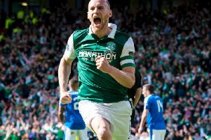 Cup-winning hero David Gray. Picture: SNS