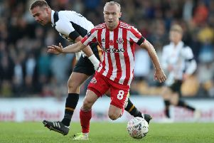 Dylan McGeouch started just five League One matches for Sunderland in 2019