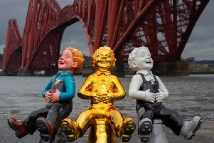 Oor Wullie's BIG Bucket Trail will take place across Scotland in summer, supporting children's hospital charities and celebrating Scotland's favourite son, Oor Wullie.