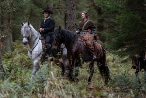 Outlander scene at Beecraigs Country Park