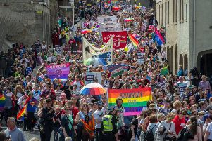 Edinburgh Pride draws thousands every year.