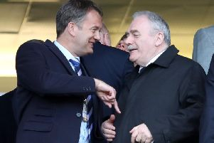Rod Petrie, right, recently became chairman of the SFA.