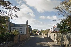 The bodies were found in Links Place in Elie. Picture: Google