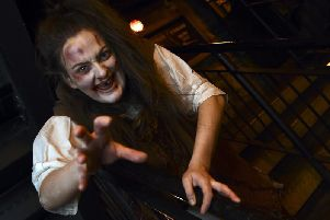Lori Flannigan is one of the main cast members at Edinburgh Dungeons.