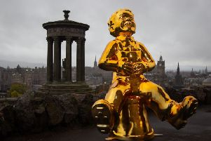 Oor Wullie statues are popping up all over Edinburgh