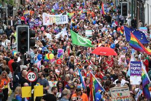 Edinburgh Pride. Picture: PA