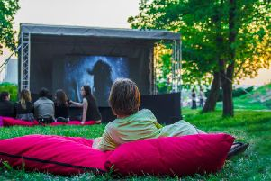 This open air event gives you and your kids the chance to catch some great films you might have missed at the cinema (Photo: Shutterstock)