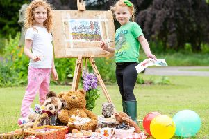 Teddy Bears picnic at Lauriston Castle