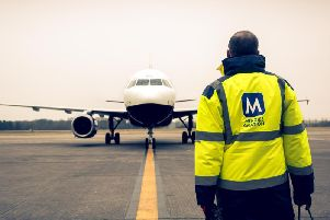 Menzies became a pure aviation business after selling its news print distribution division to a private equity firm. Picture: John Menzies plc