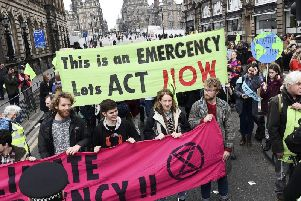 Protesters brought the heart of Edinburgh to a standstill last month. Picture: Lisa Ferguson