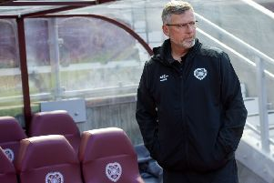 Hearts manager Craig Levein is looking at four midfielders. Pic: SNS