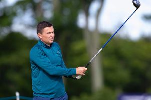 Paul Heckingbottom in action at the Renaissance Club