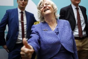 Brexit Party MEP Ann Widdecombe is a real person, not a comedy persona (Picture: Tolga Akmen/AFP/Getty Images)
