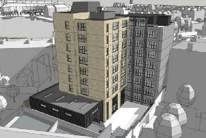 A city centre hotel has tabled plans to build 47 extra bedrooms as part of proposals for a nine-storey extension.