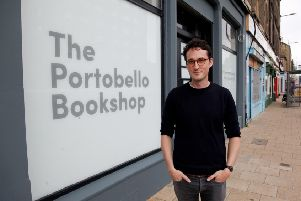 Jack Clark, owner of Portobello Bookshop