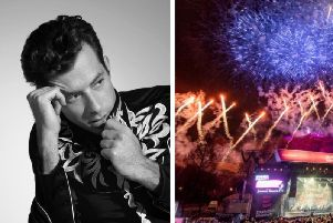 Mark Ronson will headline Edinburgh's Hogmanay.