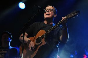 The Proclaimers performing at Party at the Palacein Linlithgow, Picture: Michael Gillen