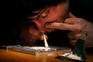 Toxic cocktail : Scotland is estimated to have 60,000 'problem drug users' (Picture: Neil Hanna)