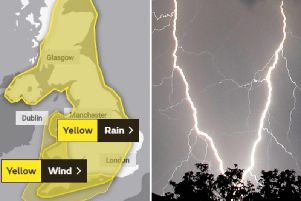 Edinburgh hour-by-hour weather: This is what time experts forecast more thunderstorms