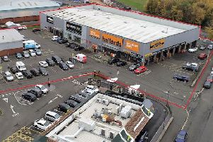 Craigentinny Retail Park is let to Halfords, among others. Picture: Contributed