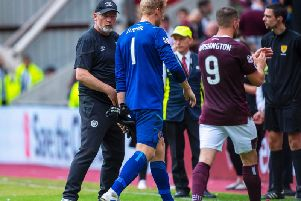 Hearts were booed off after their goalless draw with Ross County.