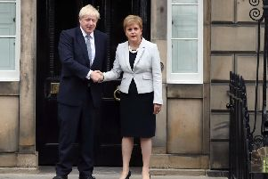 Boris Johnson's approach could lead to the break-up of the UK