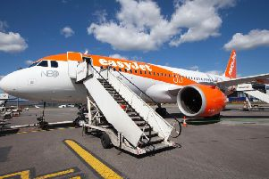 EasyJet is to base a fifth aircraft at Glasgow as part of expansion at the airport. Picture: EasyJet