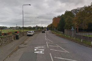 The crash happened on the A71 near Wilkieston. Pic: Google Maps