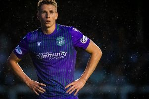 Hibs striker Oli Shaw is wanted by St Johnstone. Picture: SNS