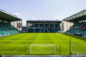 Hibs face Morton today at Easter Road. Pic|: SNS