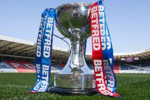 Hearts and Hibs are involved in the Betfred Cup quarter-finals. Pic: SNS