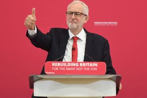 Jeremy Corbyn wants to lead a government of nationaly unity. Picture: PA