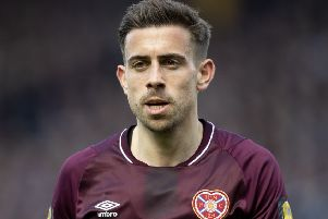 Hearts' Olly Lee is recovering from injury. Pic: SNS