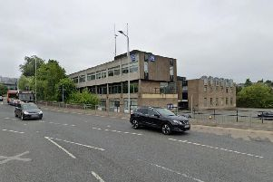 The prisoner escaped from Dunfermline police station on Monday. Pic: Google Maps