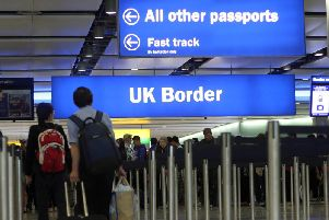 The UK Government claimed the system allowing EU citizens to freely live and work in the UK would look different after October 31