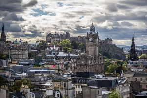 Numerous reports of 'massive explosions' heard over Edinburgh during early hours