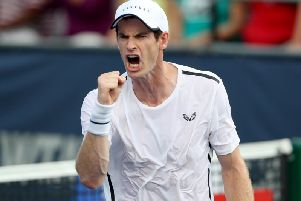 File photo of Andy Murray, who has added the European Open at Antwerp to his calendar
