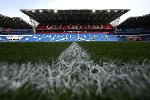 A general view of Cardiff City Stadium