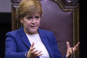 Nicola Sturgeon wants to hold a second referendum next year