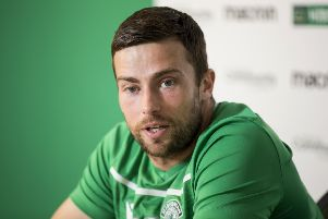 Lewis Stevenson is feeling positive about Hibs' campaign so far
