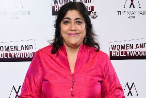 Director Gurinder Chadha attending the Women and Hollywood 10th Anniversary Awards Celebration in London. Picture: Ian West/PA Images