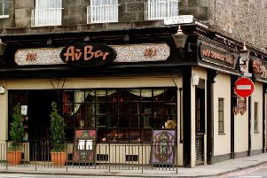 The Au Bar in Shandwick Place.